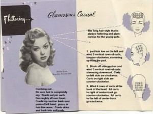 pin curl retro setting pattern