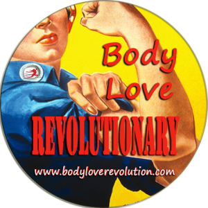 body love revolutionary badge