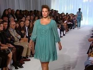 full figure fashion week plus size