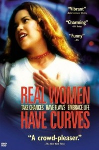 Real women have curves movie poster