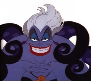 Ursula The Sea Witch From Disney's The Little Mermaid