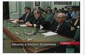 2003 Congressional Obesity Fact Finding Panel