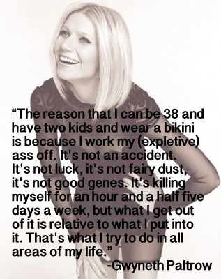 gwyneth paltrow quote about weight