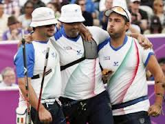 Italy's Olympic Archery Team