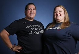 sarah robles and holley mangold