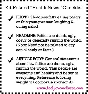 Health News Checklist From Body Love Wellness