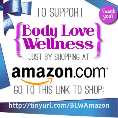 shop at amazon and support body love wellness