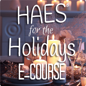 HAES for the Holidays Square Banner 294x291