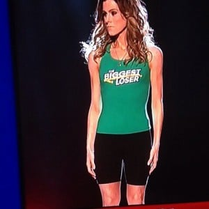 Rachel Fredrickson at The Biggest Loser finale