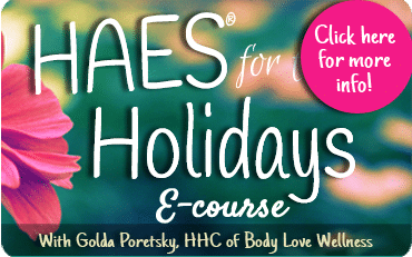 370x231px HAES for the holidays spring edition banner with click here for more info
